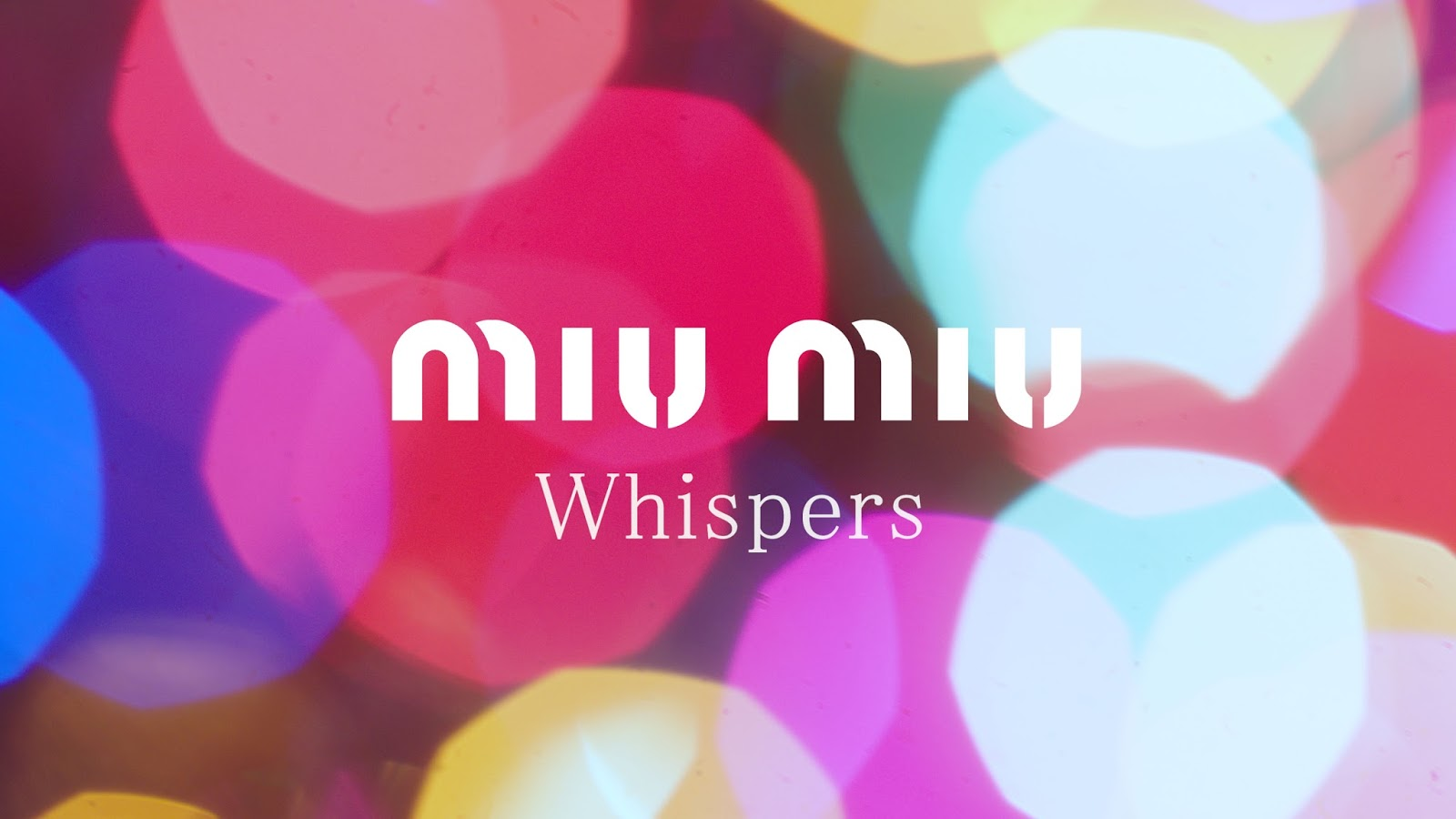 Miu Miu Whispers Holiday Campaign