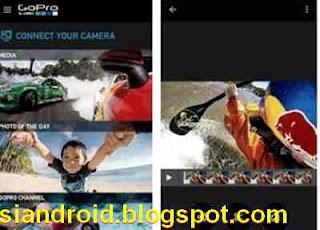 Remote Kamera GoPro dari HP Android
