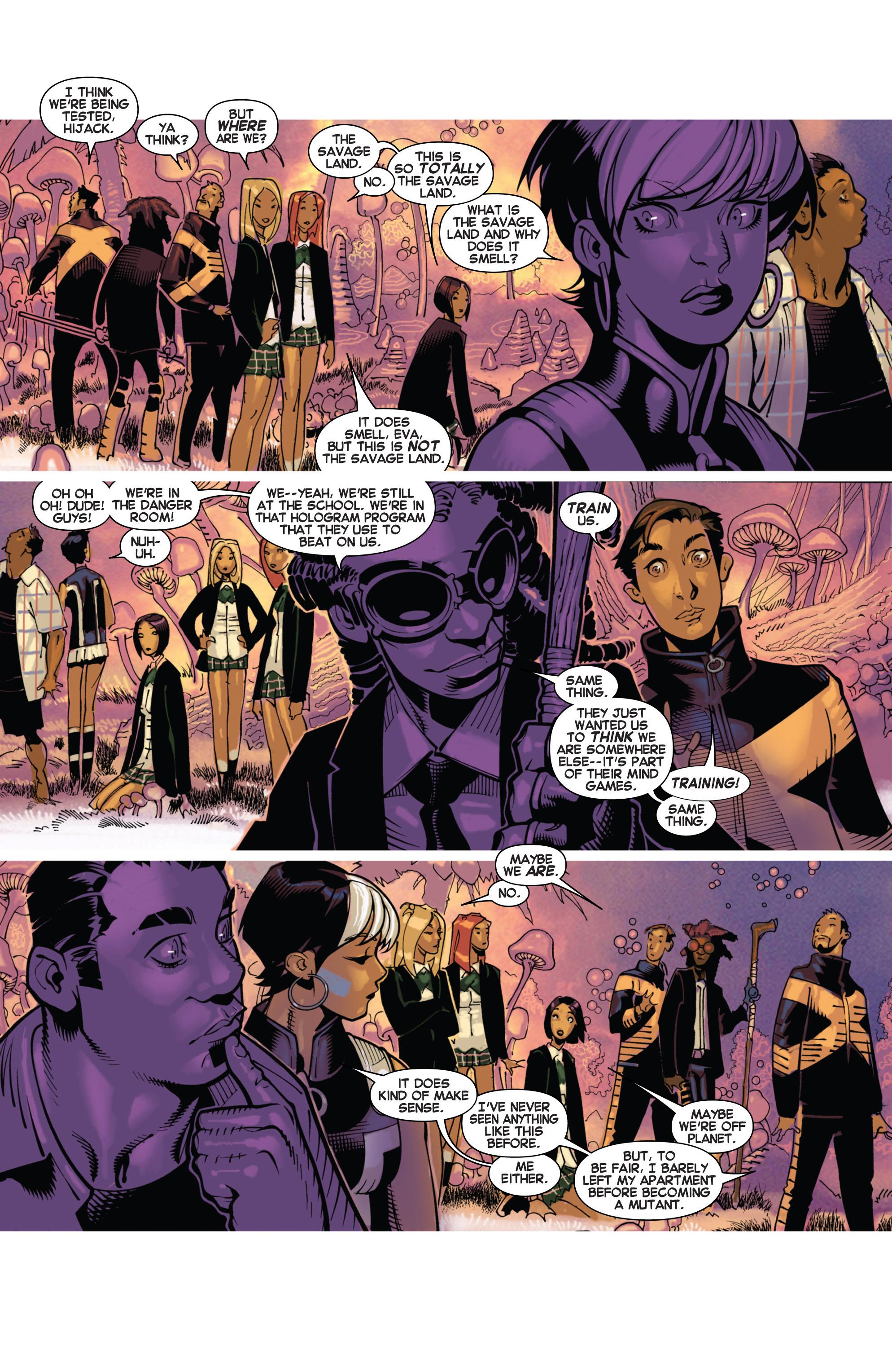 Read online Uncanny X-Men (2013) comic -  Issue #17 - 4