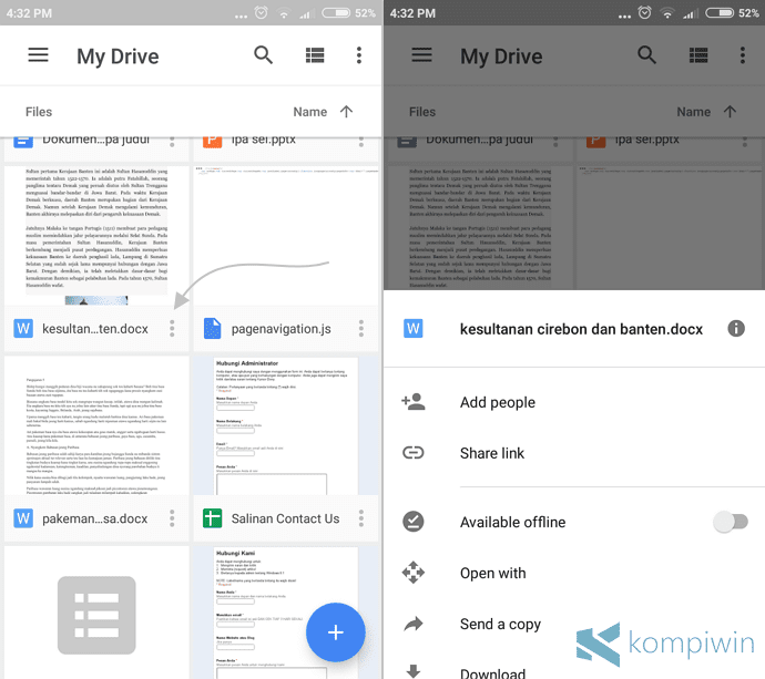 share link google drive