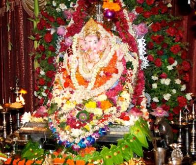 Home Decoration For Ganesh Chaturthi Ganesh Chaturthi Decoration