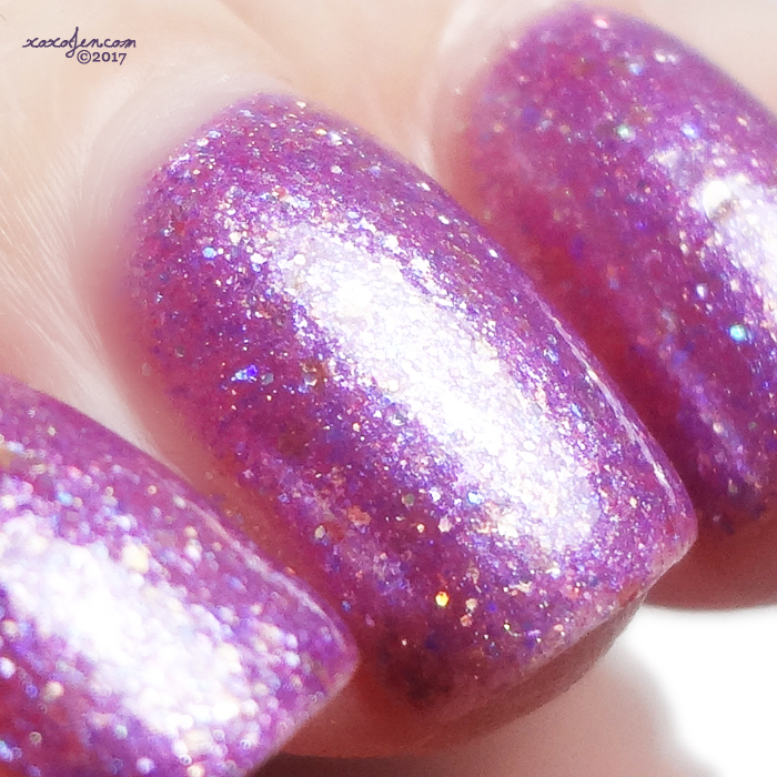 xoxoJen's swatch of Leesha's Lacquer: Liza Spinel-y