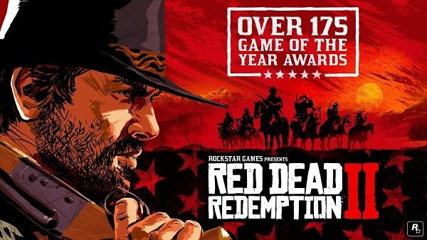 روكستار تتباهى بإنجازات لعبة Red Dead Redemption 2 وتستعرض جوائزها التي بلغت 175 تتويج بلعبة السنة !