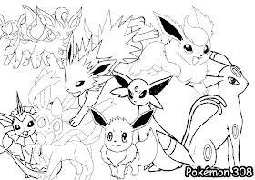 Pokemon Story Desenhos Para Colorir