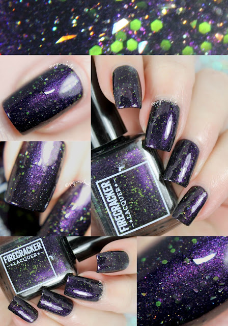 Dragons are a Girl's Best Friend by Firecracker Lacquer