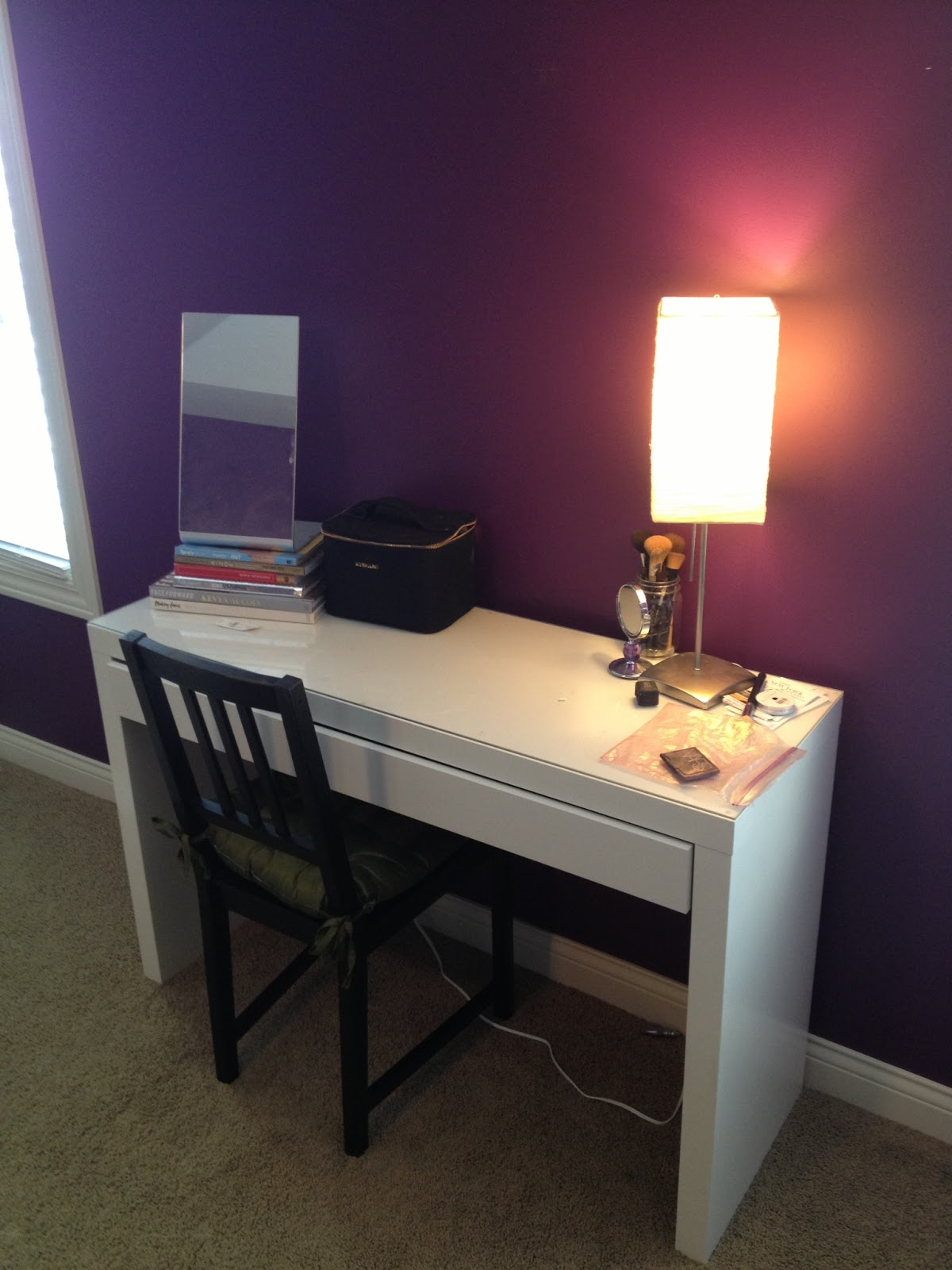 Makeup Desk Chair Skull Meme Our Styled Suburban Life Additions