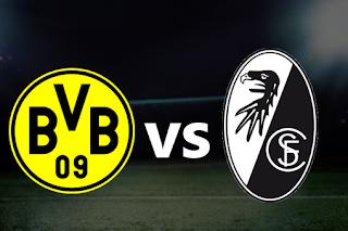 اون لاين مشاهدة مباراة بروسيا دورتموند و فرايبورج 5-10-2019 بث مباشر في الدوري الالماني اليوم بدون تقطيع