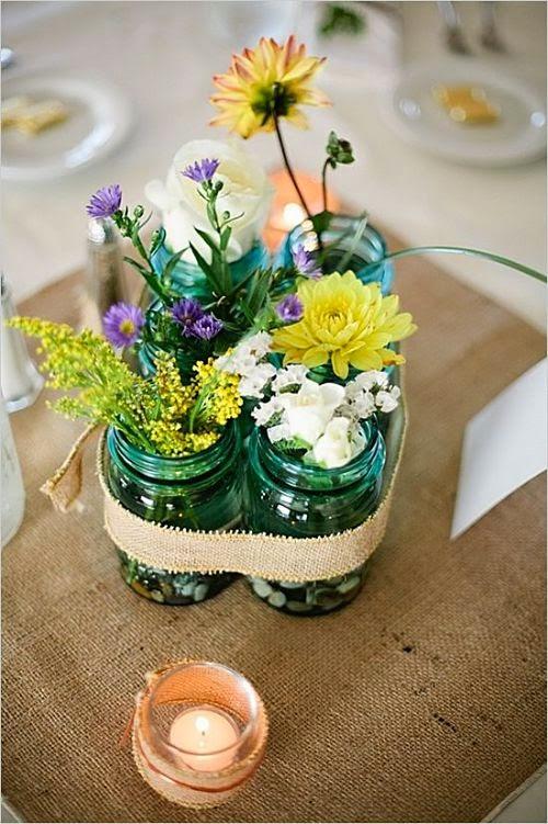 siete decoraciones primaverales con flores y plantas