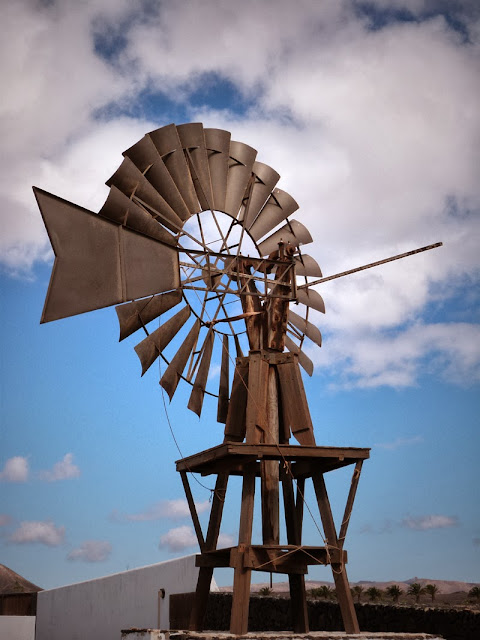 Windrad auf Lanzarote