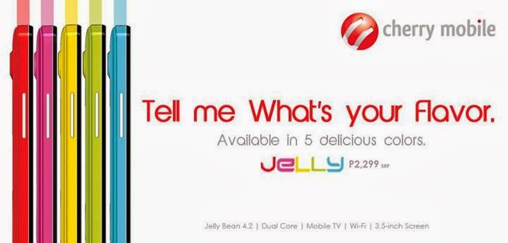 Cherry Mobile Jelly