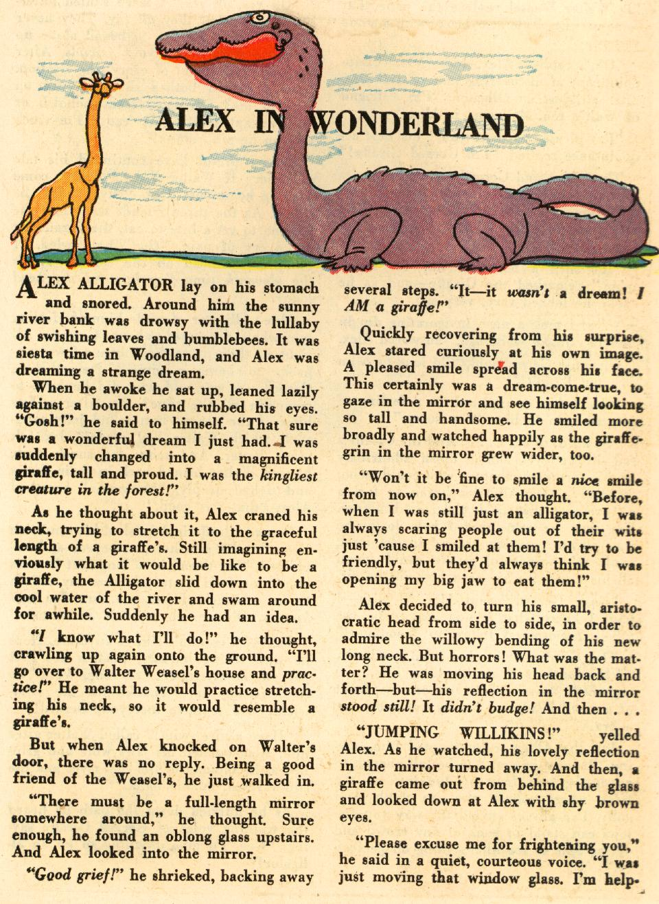 Read online Animal Antics comic -  Issue #29 - 39
