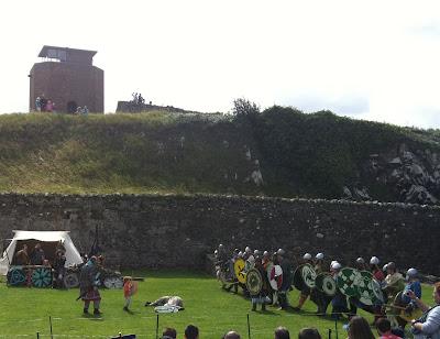 Vikings invade Lindisfarne Priory
