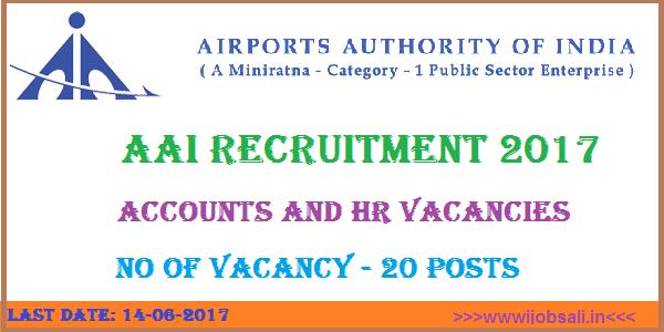 AAI Careers, AAI Jobs, Accounts Job in Kolkata, Airport Authority of India Jobs