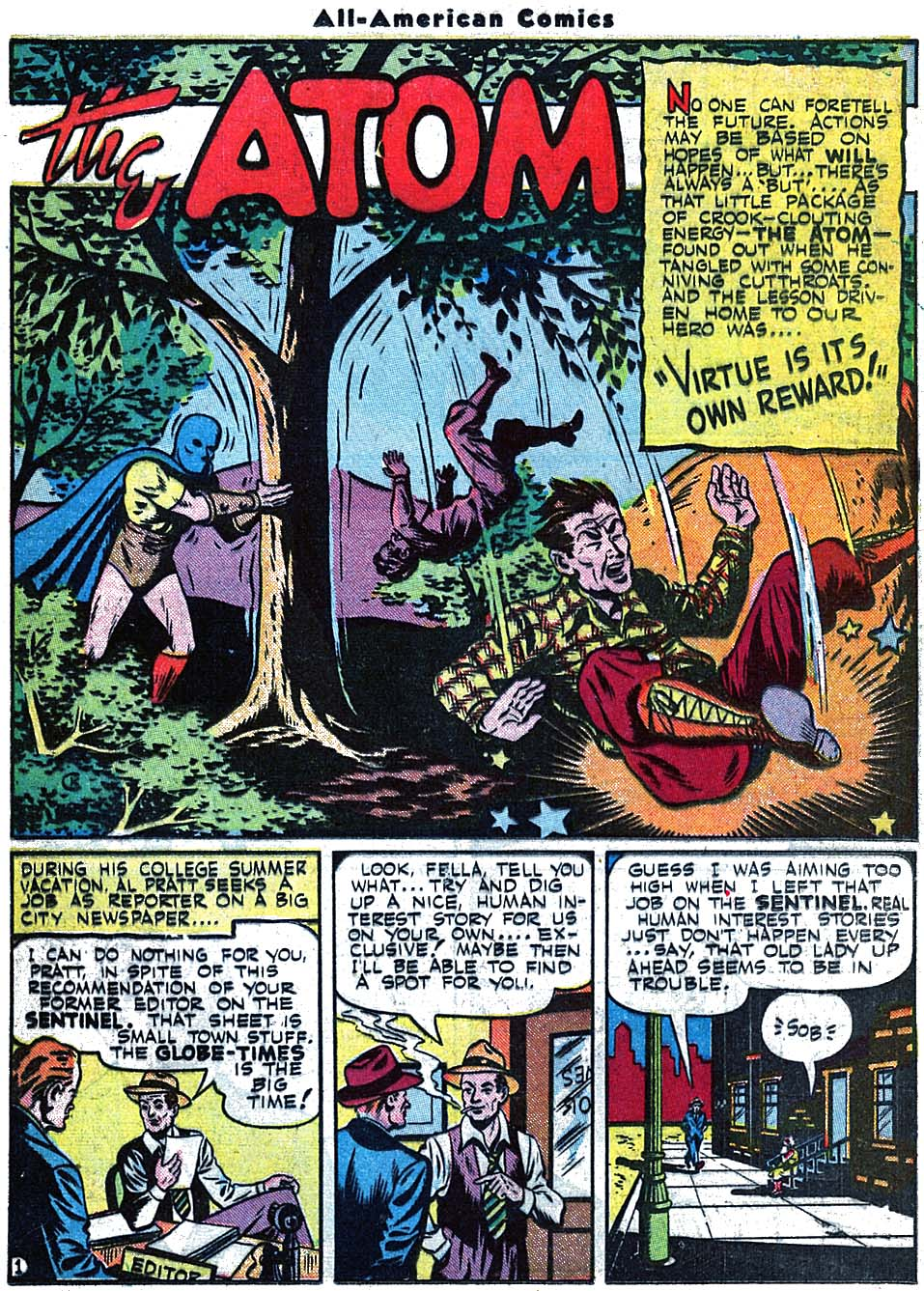 Read online All-American Comics (1939) comic -  Issue #71 - 31