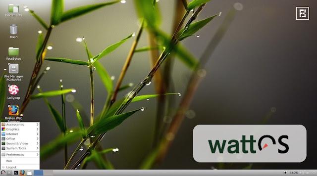 wattOS linux işletim sistemi