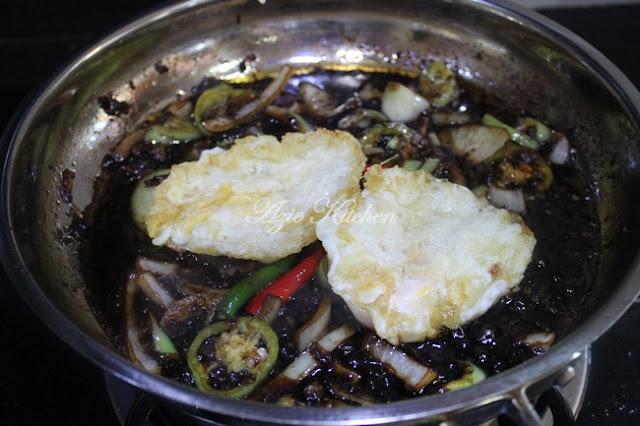 Telur Masak Kicap Blackpepper Mudah dan Sedap  Telur Masak Kicap Blackpepper Mudah dan Sedap