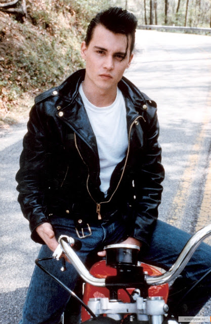 pictures of johnny depp as 1950s teen rebel wade quotcrybaby