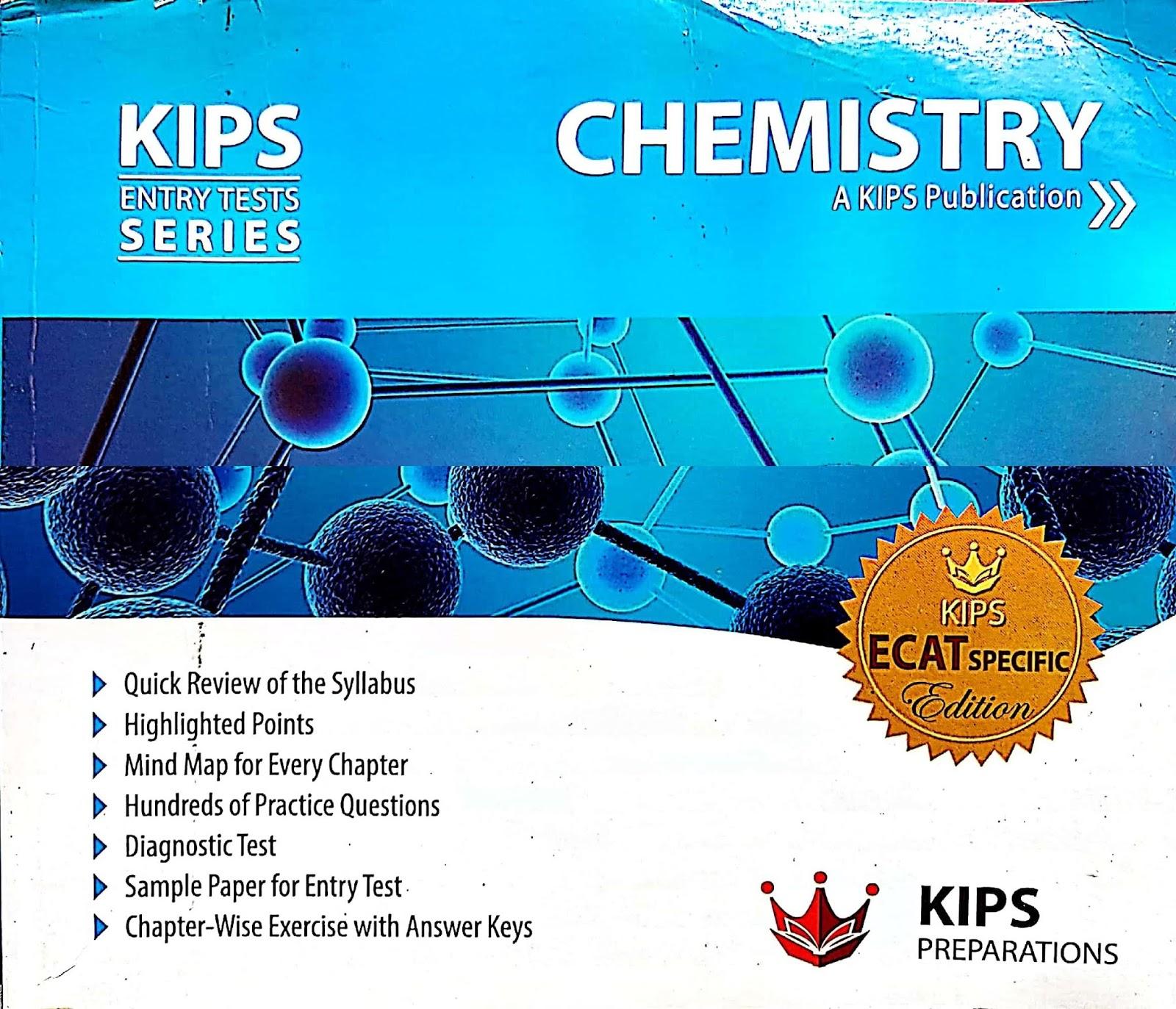 KIPS Physics Entry Test Series (ECAT/MDCAT Preparation Book)  - EducatedZone