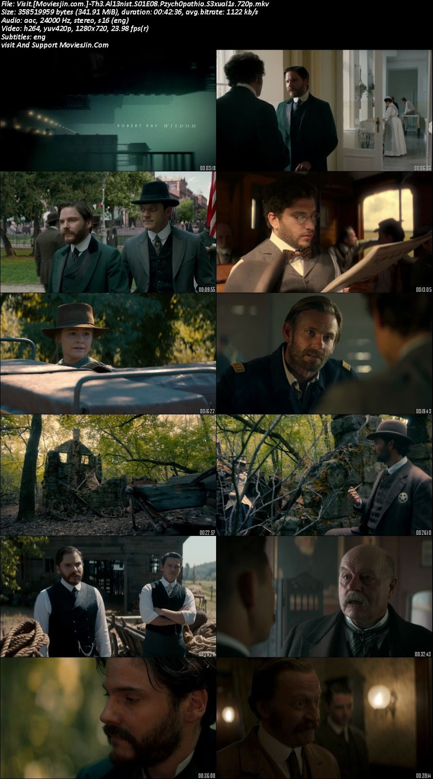 The Alienist S01E08 WEBDL 720p ESubs 330Mb TvRip