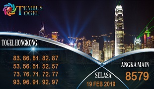 Prediksi Angka Togel Hongkong Selasa 19 Februari 2019