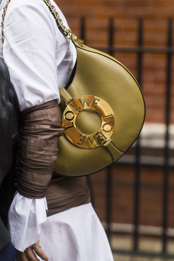 Loewe Bag London Fashion Week LFW SS17 Street Style