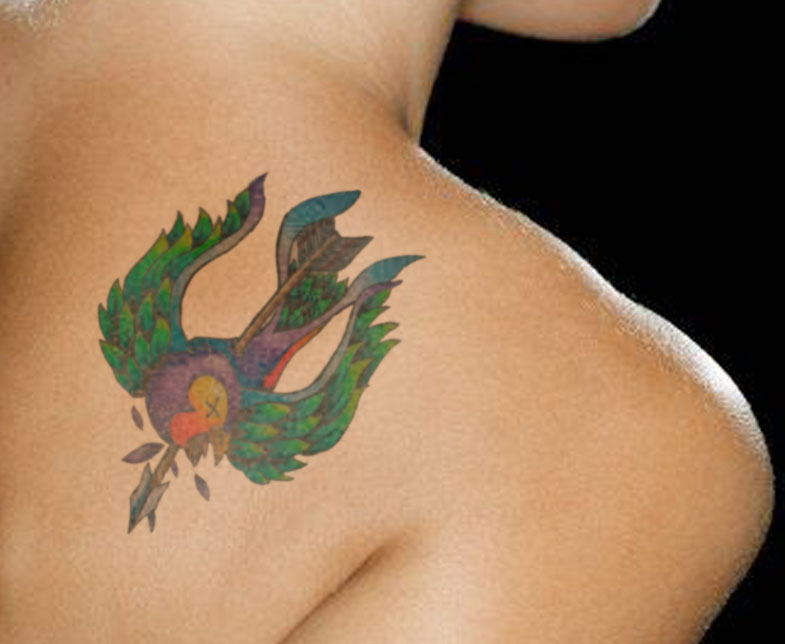 Only Swallow Tattoo: Swallow Bird Tattoo Symbolism