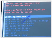 android system recovery - samsung galaxy s6 edge plus
