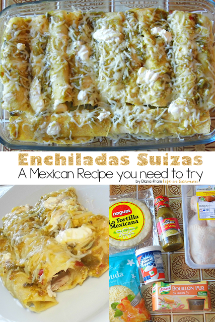 "Best Mexican Recipe ""Enchildas Suizas"""