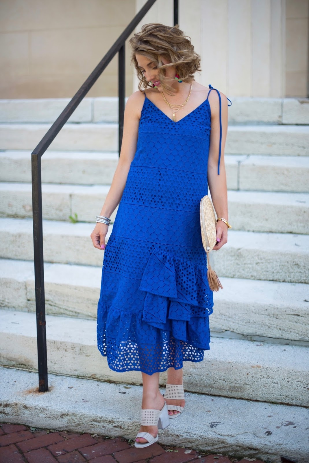 What to wear to a summer wedding - Click through to see more on Something Delightful Blog