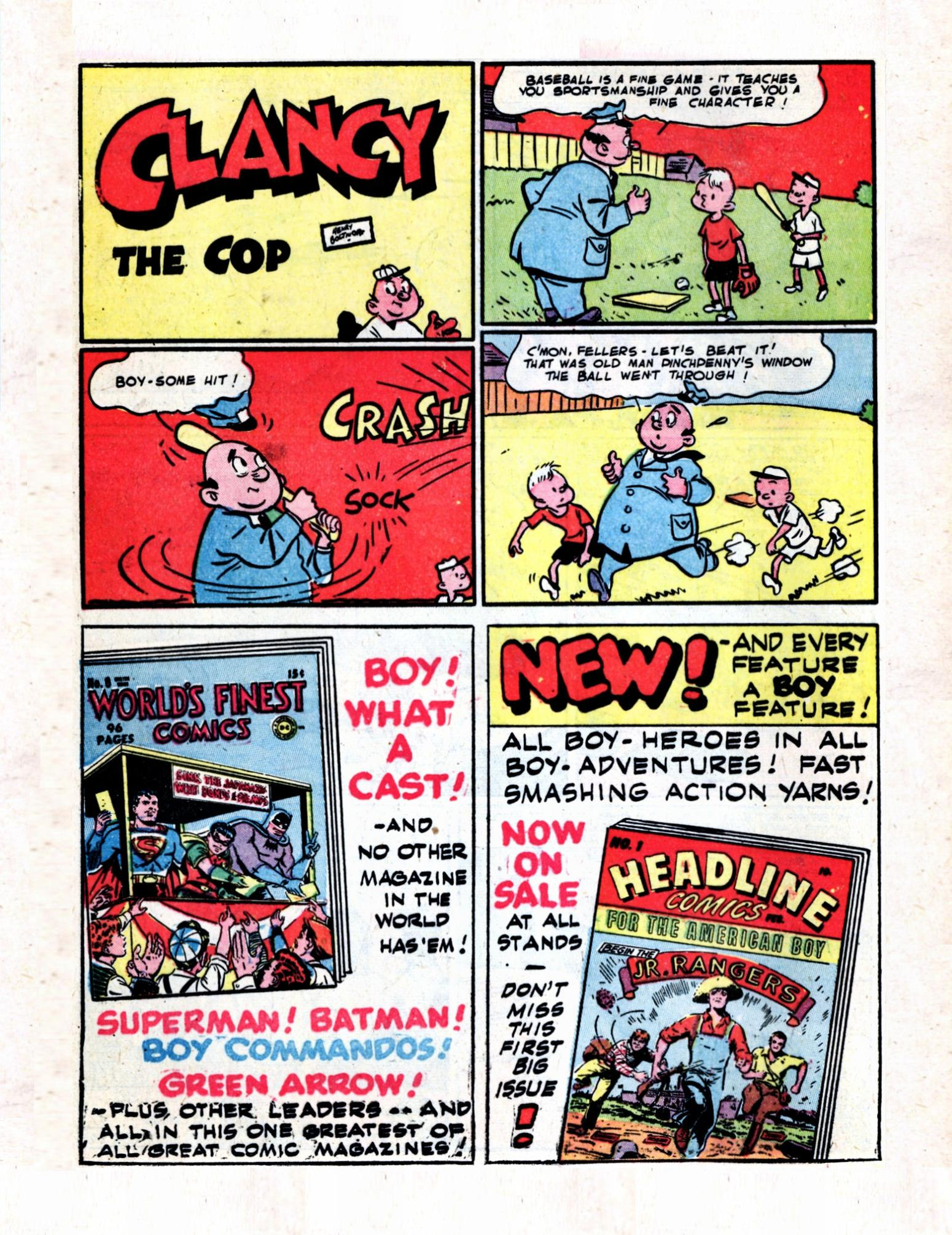 Read online Action Comics (1938) comic -  Issue #57 - 38