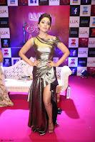 Shreya Saran in Skin Tight Golden Gown ~  Exclusive 013.JPG