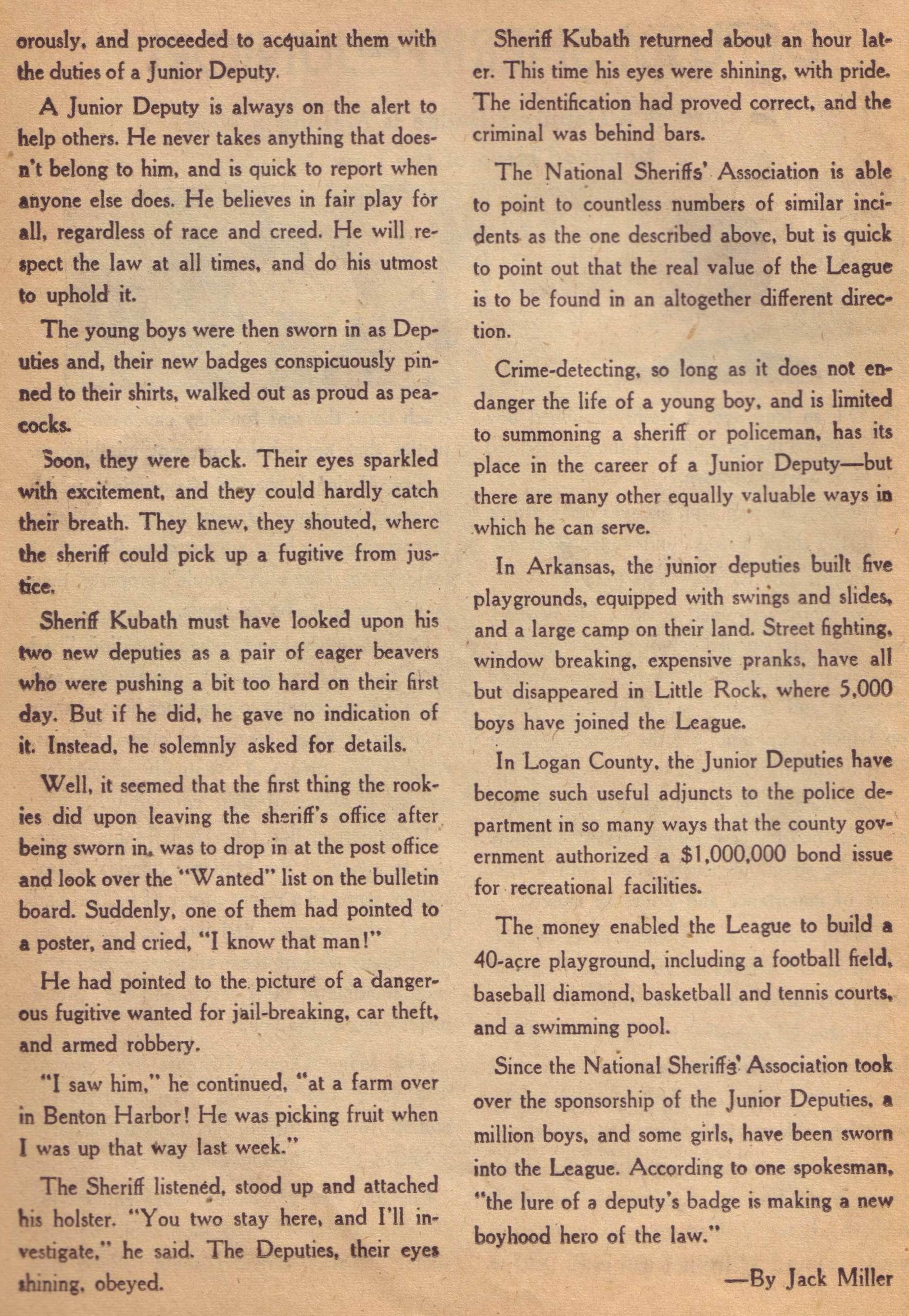 Read online Detective Comics (1937) comic -  Issue #197 - 32