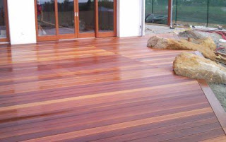 decking kayu lantai kayu outdoor