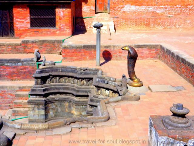 Bronze Snake Statue, Taleju Temple, Bhaktapur