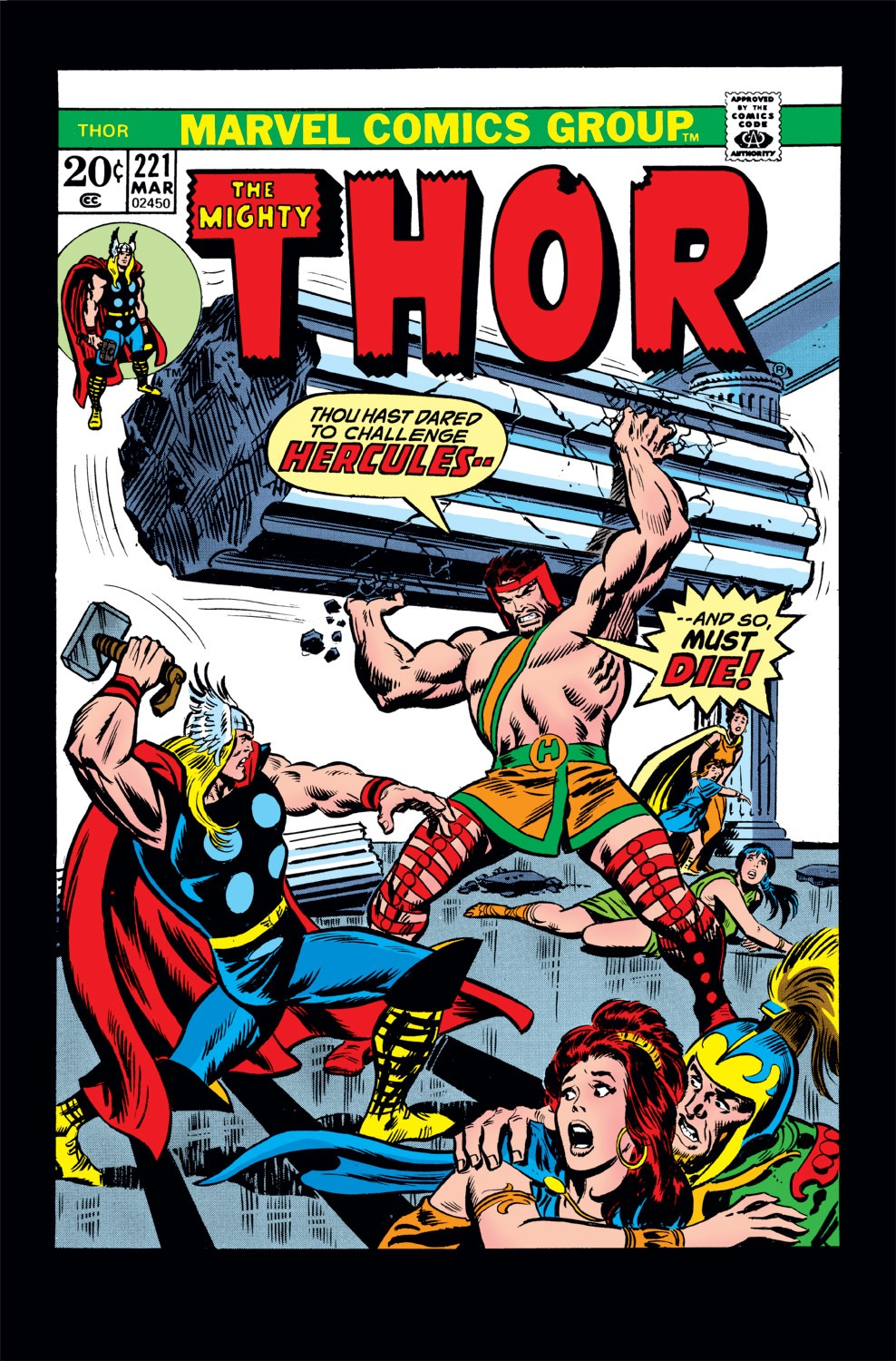 Thor (1966) 221 Page 1