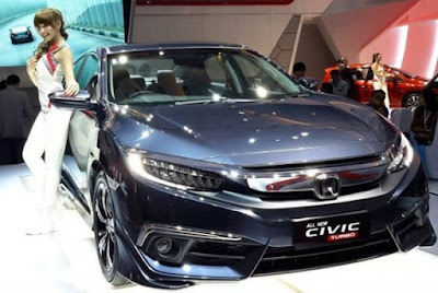All New Honda Civic Bermesin Turbo Lebih Bertenaga