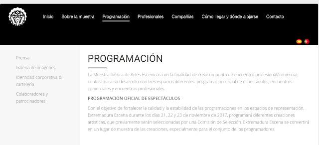 http://www.agcex.org/extremadura-escena/programacion/