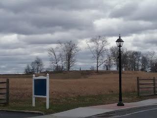 Cemetery Ridge, Gettysburg.