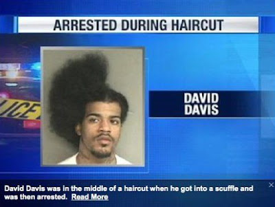 haircut fail, hair fail, hair style fail, half a haircut