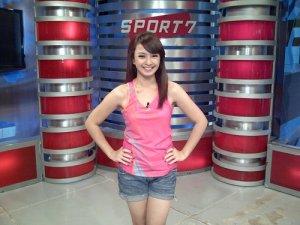 Foto Presenter Olahraga Cantik Auxilia Paramitha