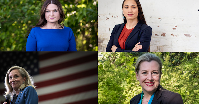 #Midterm : A record number of women were elected to the House of Representatives in Tuesday !