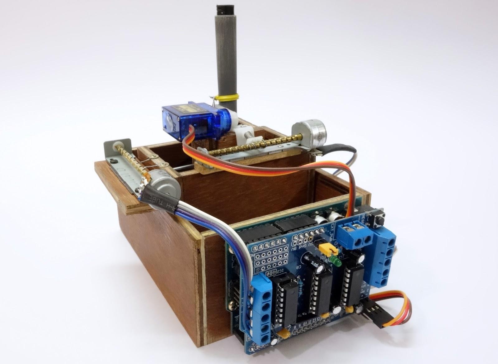 Diy arduino motor shield impremedia