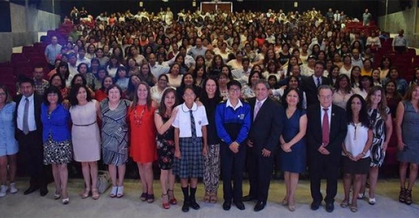 FONDEP: Más de 450 docentes fortaleza fueron reconocidos por DRELM - www.fondep.gob.pe