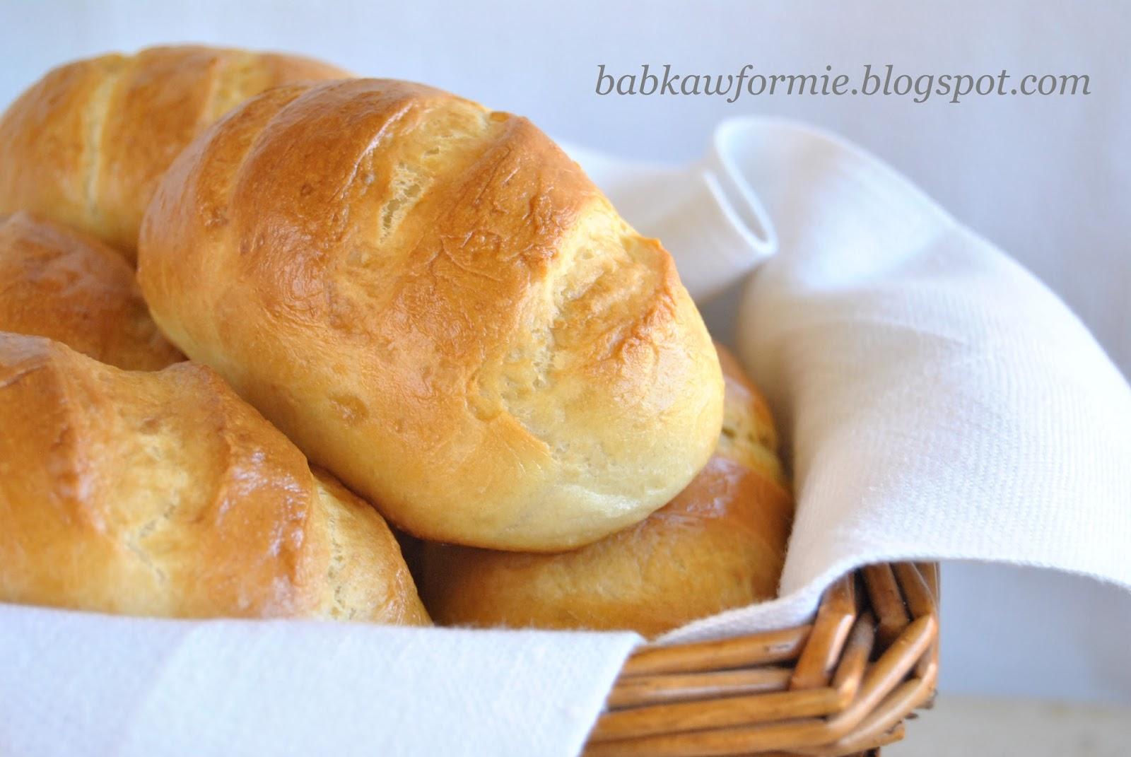 bułki drożdżowe maślane mleczne śniadaniowe babkawformie.blogspot.com