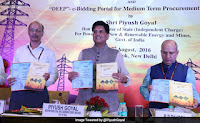 Union Minister unveils e-portal for e-auction of power transmission projects