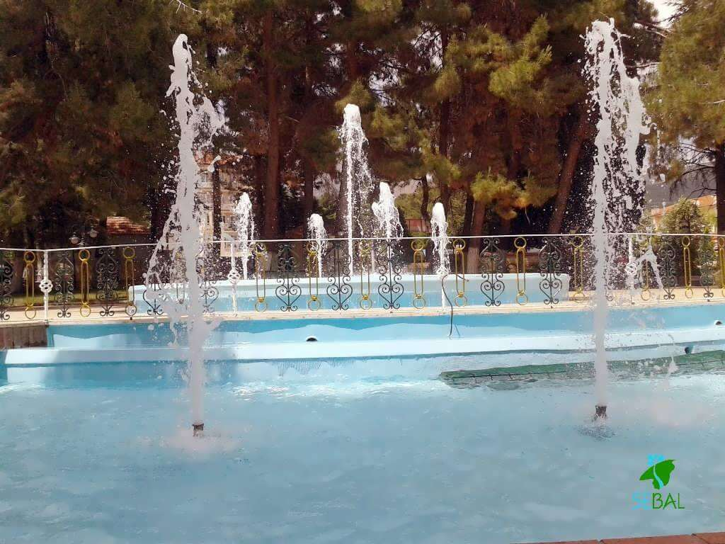 Gönen yapay kaya havuz
