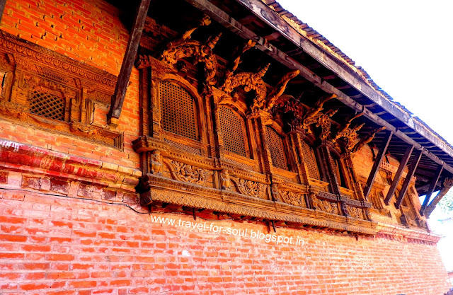 Architecture in the Taleju Temple, Bhaktapur