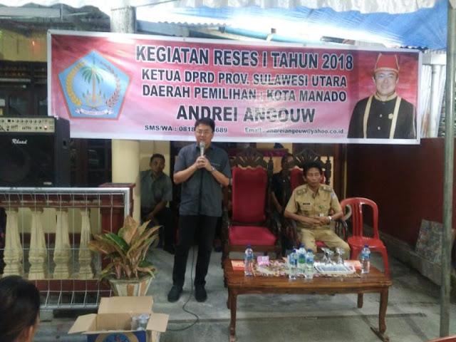 Legislator Sulut Tuntaskan Reses Perdana 2018