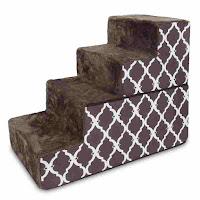 Best Pet Supplies 3-Step Foldable Foam Pet Stairs