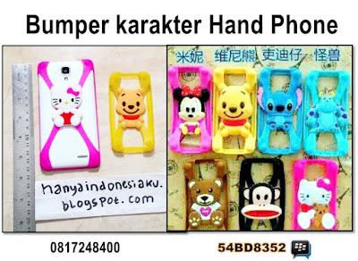 aksesoris hp , accesoris hp murah, bumper HP , bumper HP karakter , harga bumper HP , bumper HP murah , bumper HP 3D , jual aksesoris HP , cashing Handphone